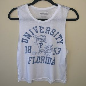 Abercrombie & Fitch cropped muscle tank